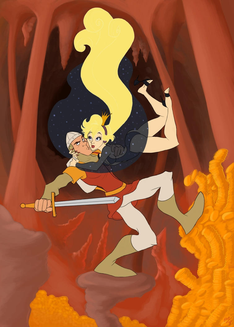 Dragon 39 s lair by tell me lies on deviantart for Dragon s lair
