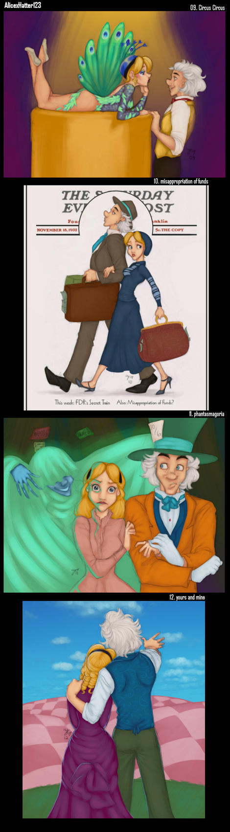 AlicexHatter123 Prompts 9-12 by Tell-Me-Lies