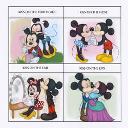 Kiss Meme - Minnie and Mickey by Tell-Me-Lies