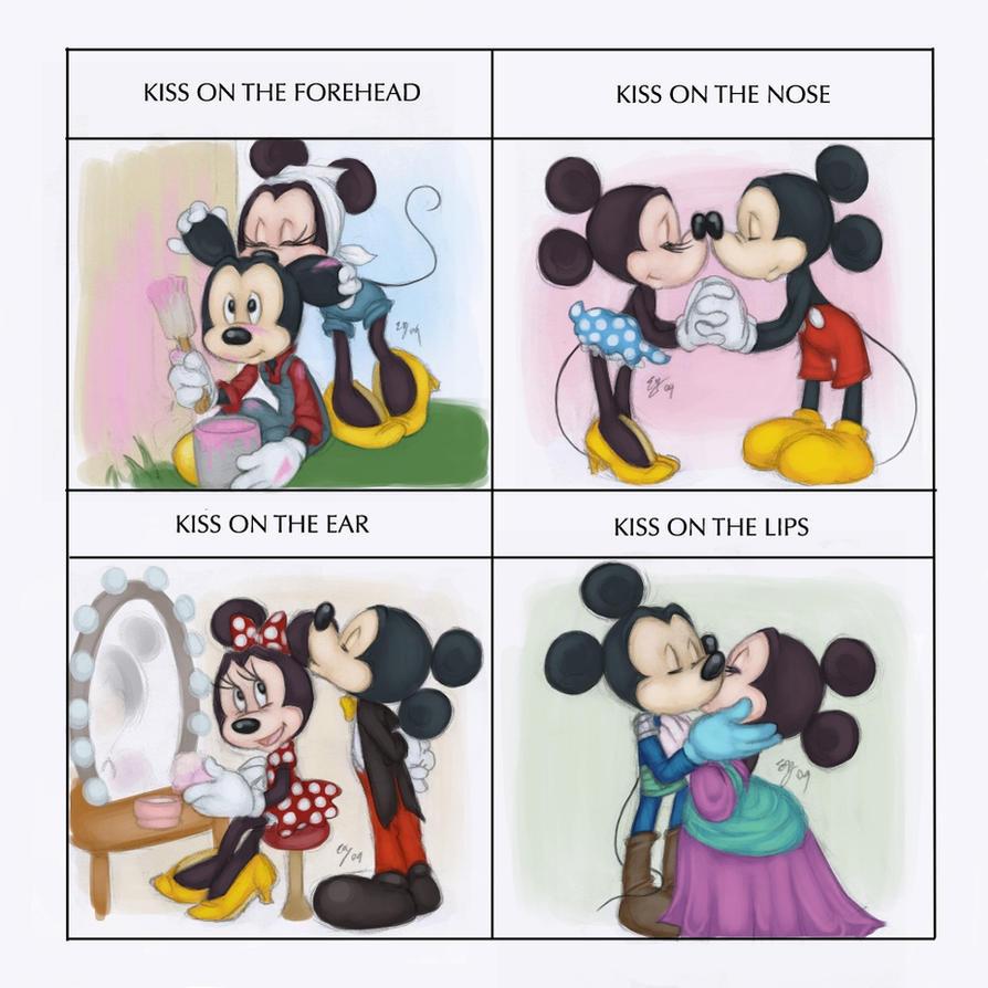 bca4a45d2e0cbf0be3771018208aaa36 kiss meme minnie and mickey by tell me lies on deviantart