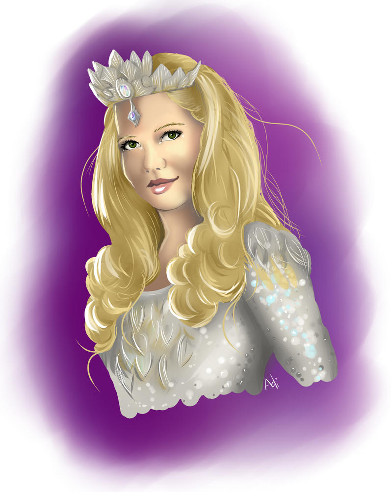 Glinda - Michelle Williams by Adrolien