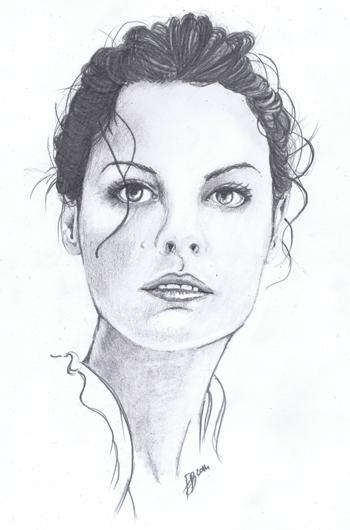 Jaimie Alexander by Adrolien