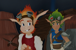 Jak and Daxter Screenshot Repaint by Alex21346587