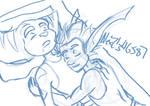 Cuddles Sketch by Alex21346587