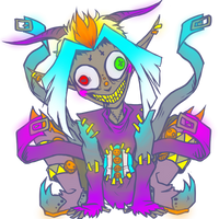 Glitch: Official Ref by TheWickedWordsmith
