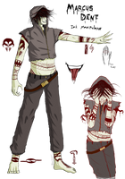 Marcus Dent: Official Ref by TheWickedWordsmith
