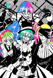 Visual Kei Nanboys by TheWickedWordsmith