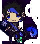 Gacha Theme: Punk Rock Half-Demon by Nametagz