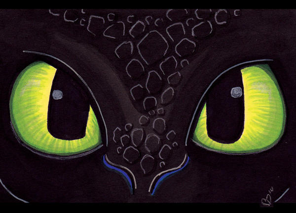 Toothless Sees You by ChrisWithATa