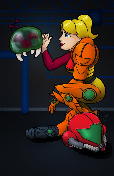 Curious Metroid by ChrisWithATa