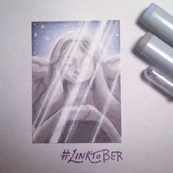 Linktober Day 6 - Goddess by ChristaDoodles