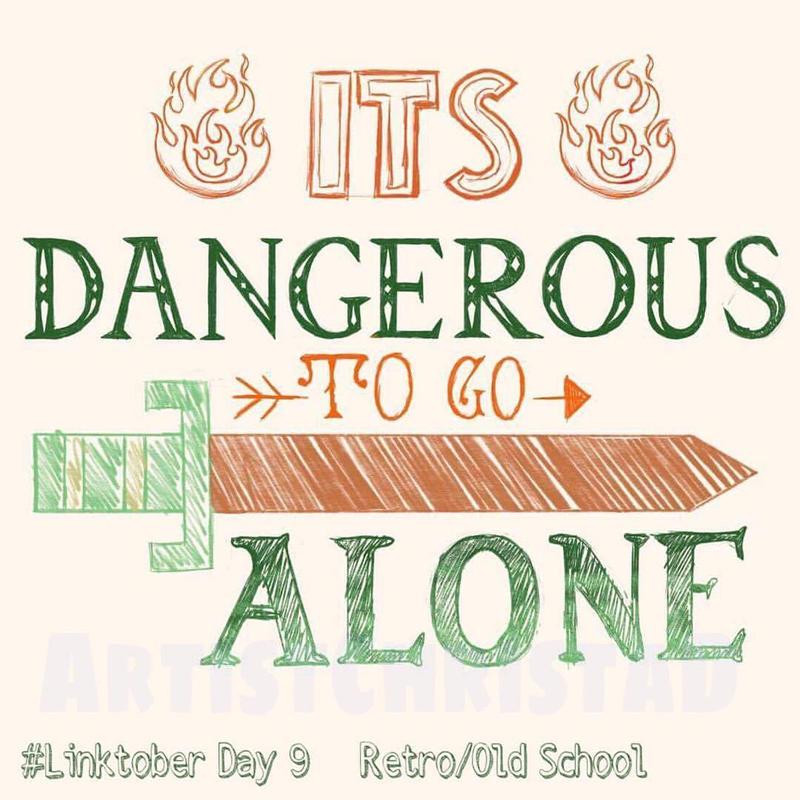 Linktober Day 9 - Old School/Classic/Retro