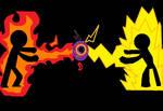 Lightning VS. Fire