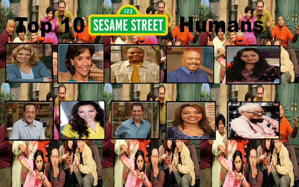 Top 10 Sesame Street Humans by Thomperfan on DeviantArt