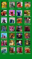 Sesame Street cast example