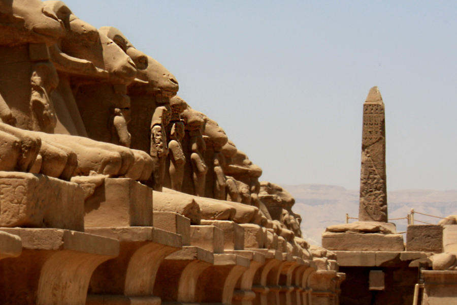 Karnak Temple by EduGanster
