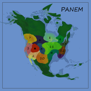 Map of Panem by roseflight on DeviantArt