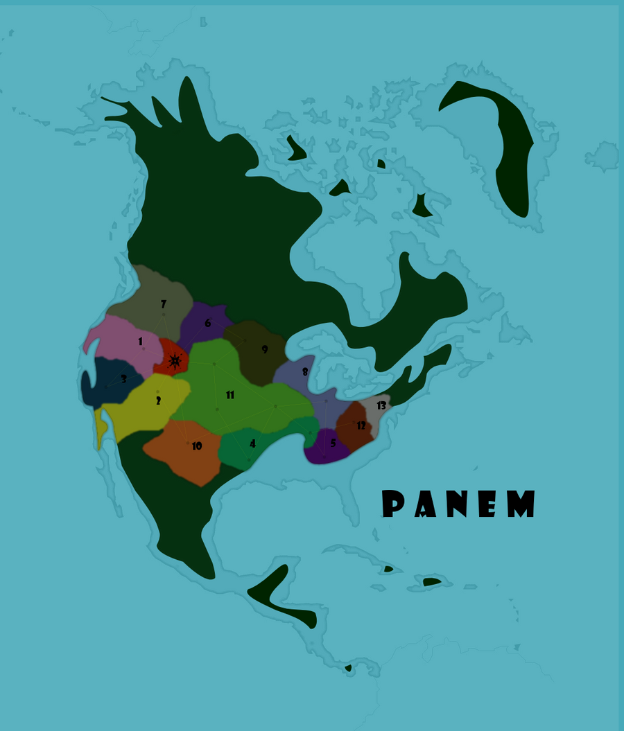 Panem Map II by roseflight on DeviantArt
