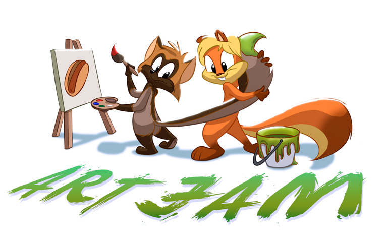 Artjam-Banner-2015 by CartoonGurra