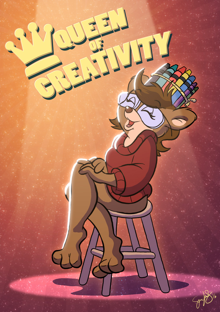 Queen of Creativity by CartoonGurra