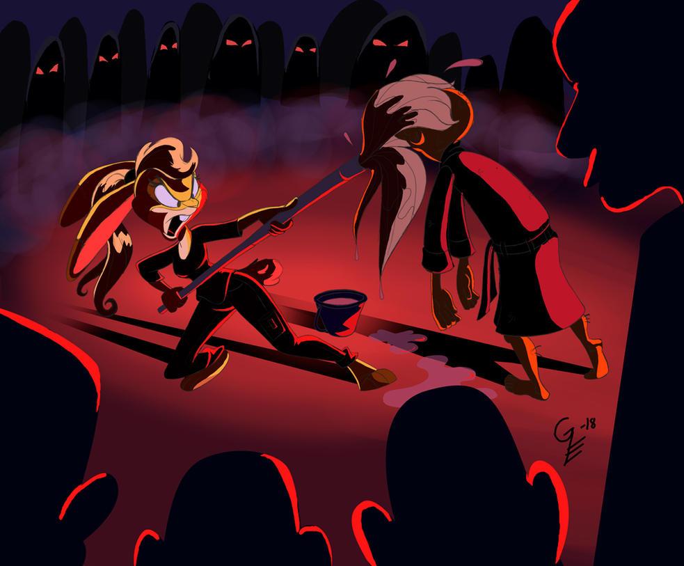 MarinaStrikesBack by CartoonGurra