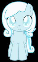 MLP: Snowdrop the adorable filly! by LilyLuPony