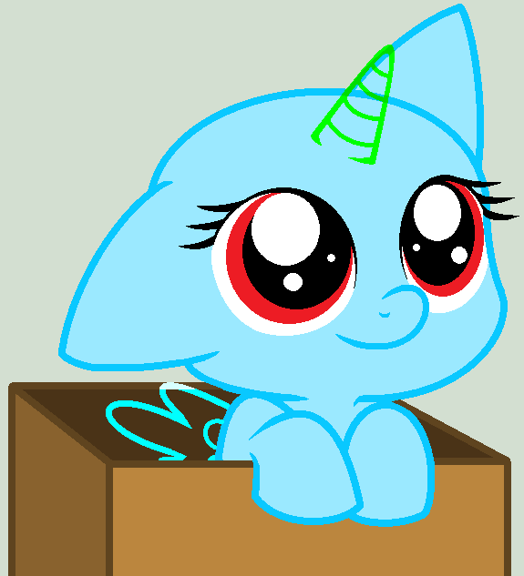 MLP: Filly In The Box Base by LilyLuPony on DeviantArt