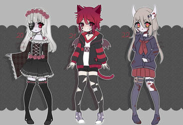 [CLOSED] adopts auction #20-22 by pueru--adopts