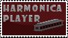 Harmonica Player by Kazaello