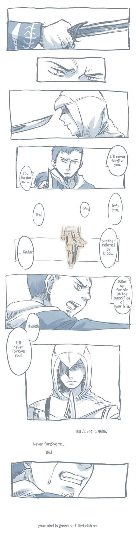 Altair and Malik by tatsuri