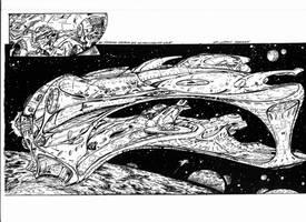 Space Raptor by Waldeck
