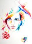 Emma Watson WIP by Juliette-Capulet