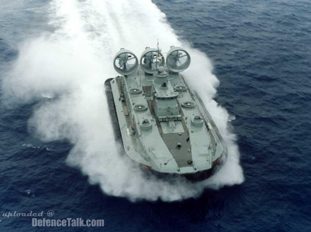 Zubr class LCAC NATO Name: Pomornik by jamestayloranime