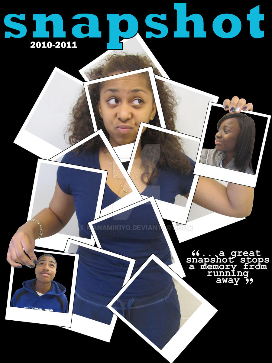 The yearbook cover