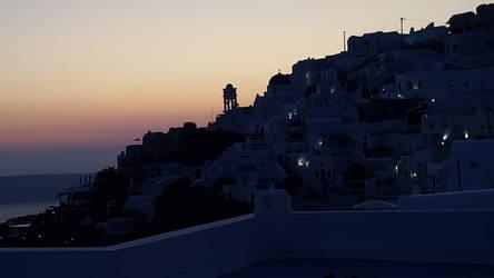 Santorini 1h later