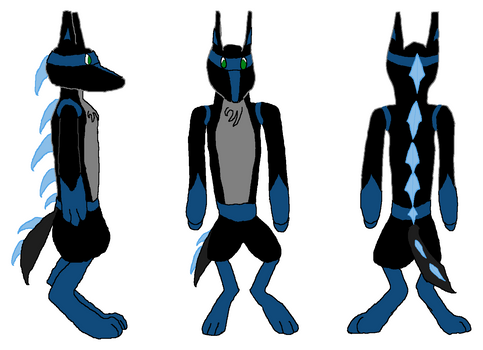 BlueAnubis: drawn
