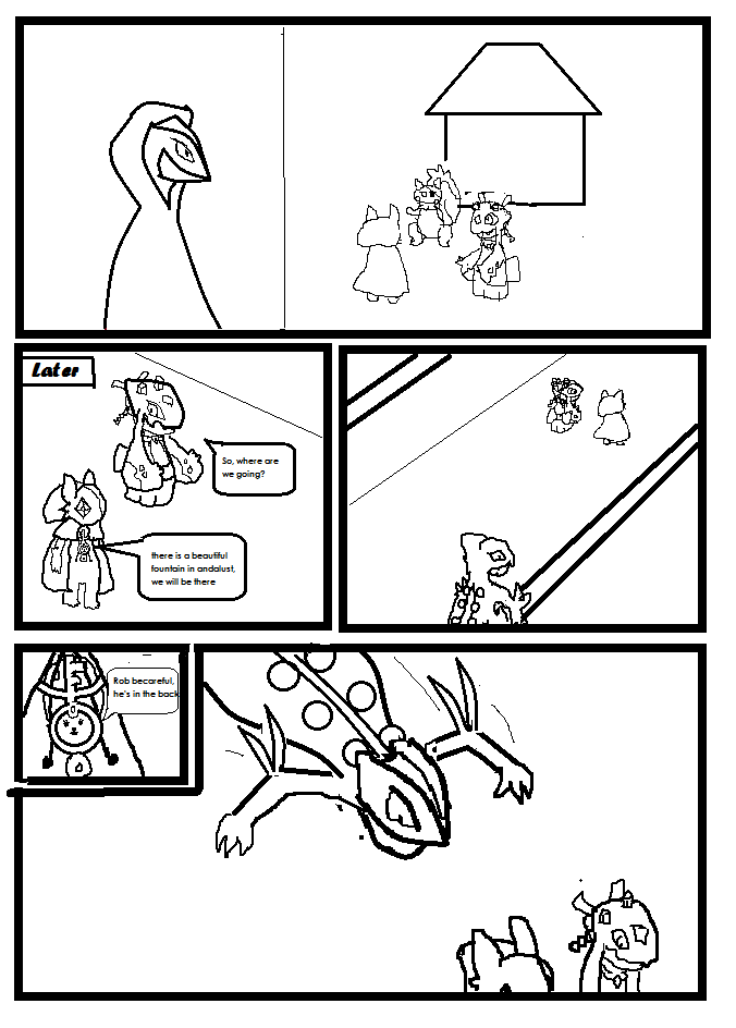Team Trick and Magic : June, Hunters Task 2 Page 1