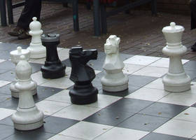 Chess Pieces 001 by this-and-that-stock