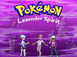 Pokemon Lavender Spirit Title