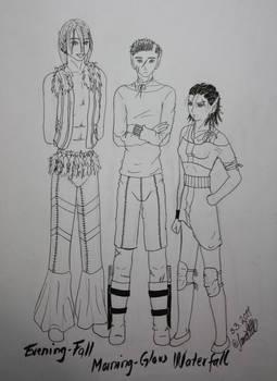 My elves, three of them.