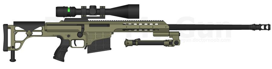 Barrett M98b By Gunfreakfin On Deviantart