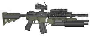 M4A4 + Shotgun