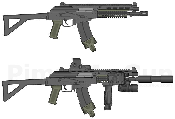 AKS90U by GunFreakFin