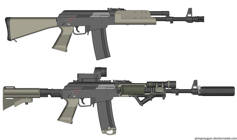 J12 Assault rifle by GunFreakFin