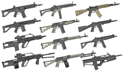 Gun Collection #2 by GunFreakFin