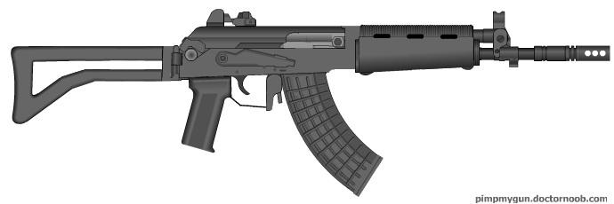 RK95 Assault rifle by GunFreakFin