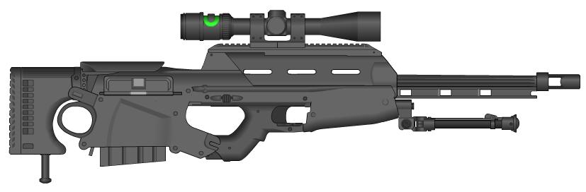 M87 Sniper rifle by GunFreakFin