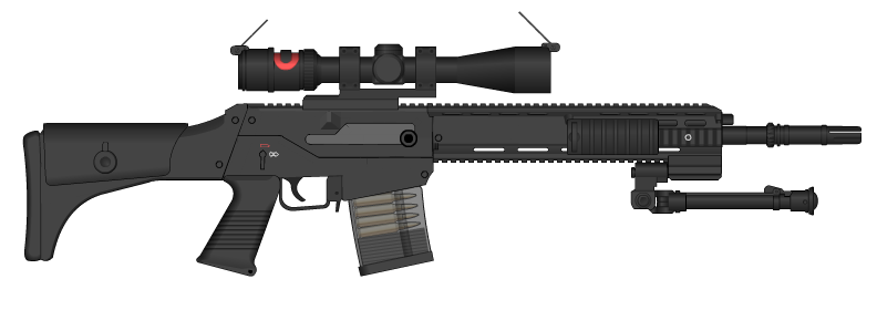 M28A1 DMR by GunFreakFin