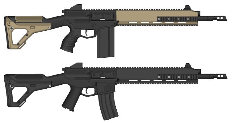 KN-9 Assault rifle by GunFreakFin