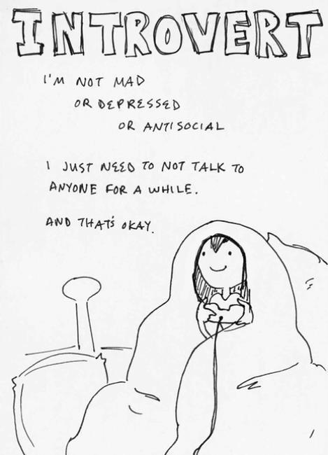 Introvert by AnimatedCookiePeople